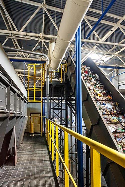 impianti riciclaggio plastica