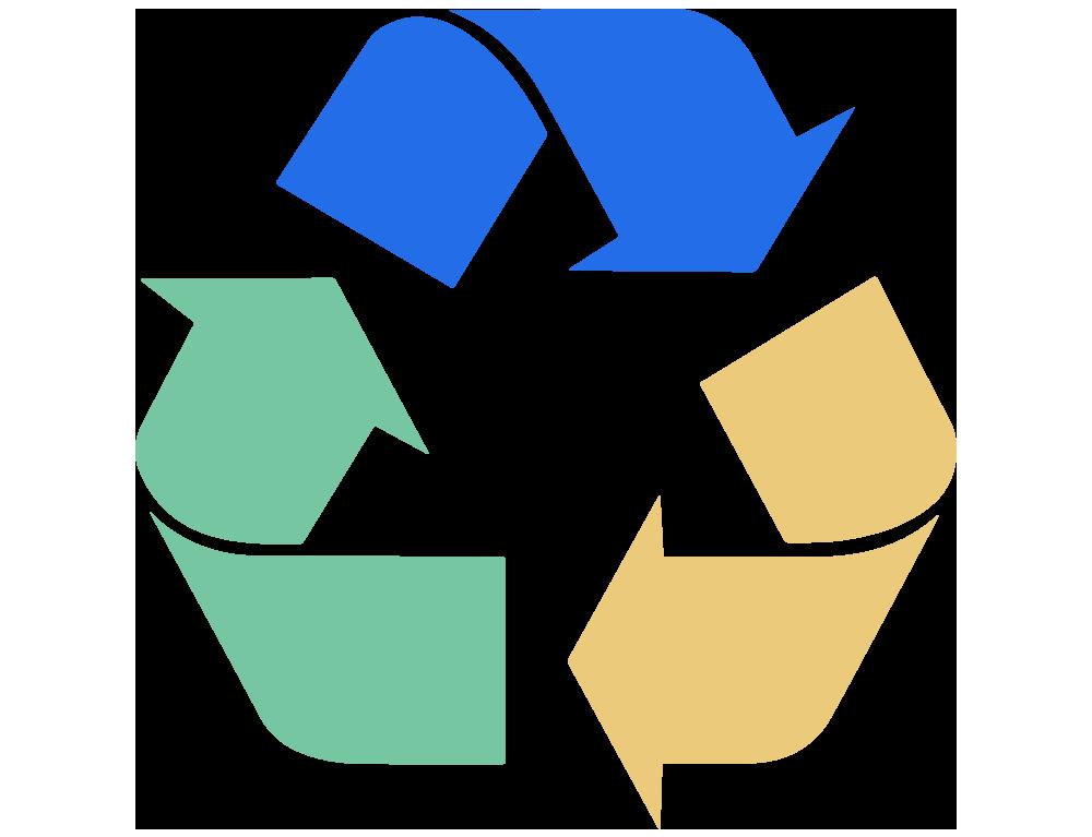 simbolo riciclo plastica